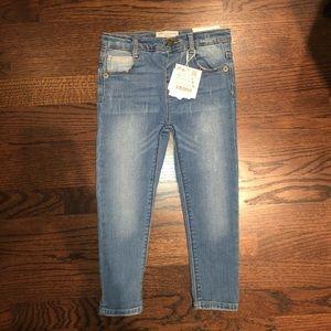 ZARA BABY Indigo Suppliers Jeans, Size 3-4 years.